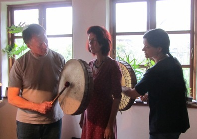 Klangmassage für Martina