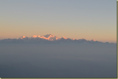 Kangchenjunga at dawn