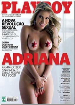 Playboy – Adriana BBB11 – Setembro 2011