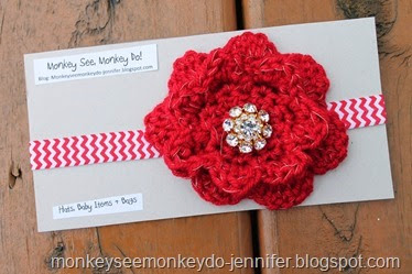 christmas red headbands