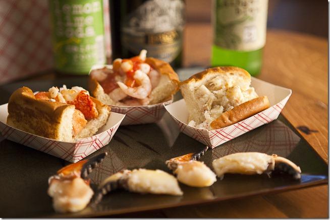 Lobster Roll Shrimp Roll Crab Roll