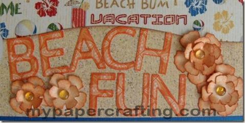cricut artiste beach title 475