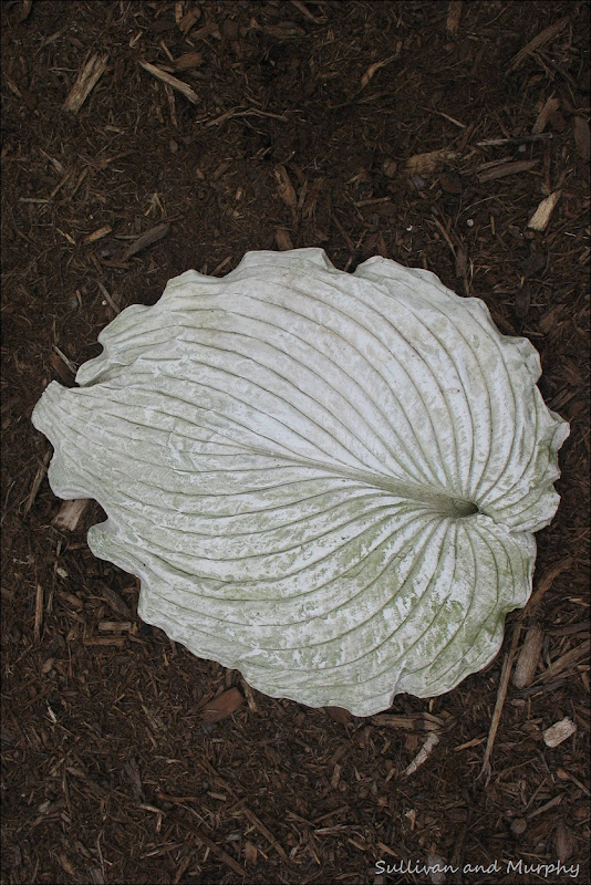hypertufa leaf