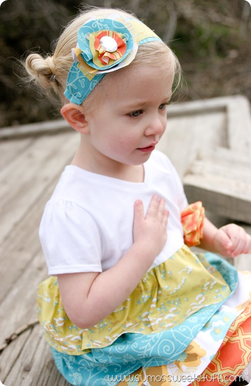 Ruffle Dress by Sumo's Sweet Stuff - This pattern is part of the Sew Fab Pattern Bundle. 26 patterns for $30! #sewfab