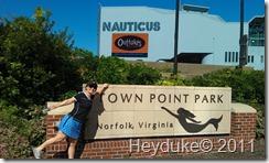 10-7-2011 Norfolk, VA mermaid park