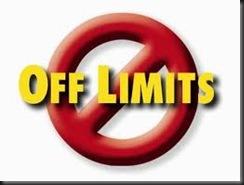 off-limites