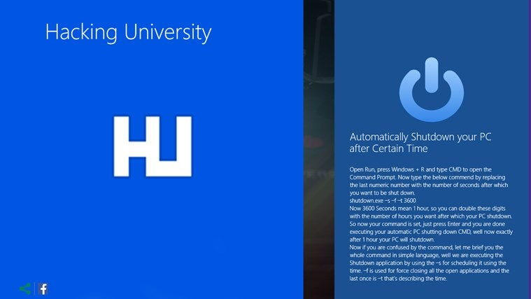 hacking university windows app