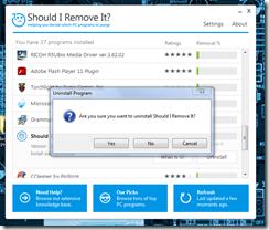 برنامج لمعرفة و إزالة البرامج والملفات الضارة والغير مفيدة Should I Remove It - سكرين شوت 3