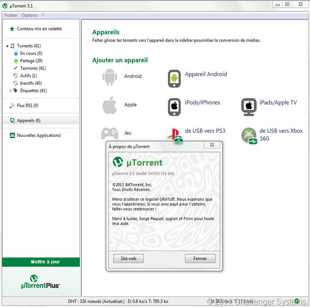 utorrent 3.1