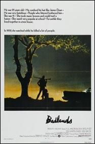 Badlands - poster