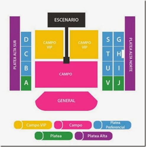 one direction argentiann entradas hasta adelante campo vip paltea compra y venta de boletos inmediata y facil revendedores