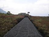 The landslip wall barrier (Daniel Quinn, June 2010)