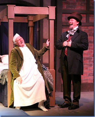 Scrooge and Dickens