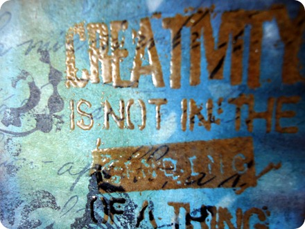 Tim Holtz Creative Chemistry - Day 5 002