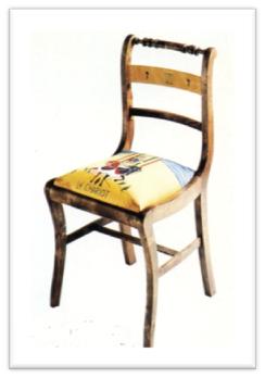 El Carro, del artista Lorenzo Olaverri y el tapicero-restaurador Francisco Alonso
