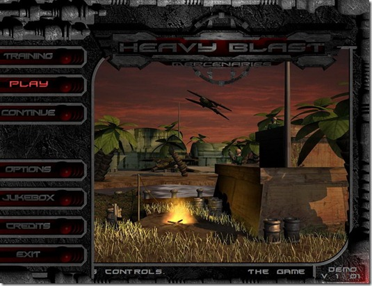 Heavy Blast Mercenary indie game (8)