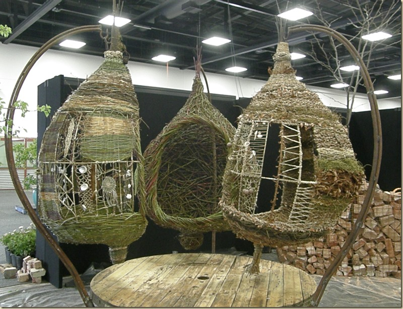 Basket Weaving Adelaide : Basketrysa the completion of hanging pod chairs