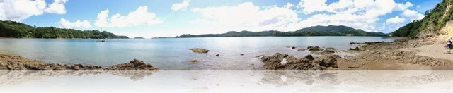 Parekura Bay panorama