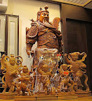 八吋八流氓戰甲太子從靈感-手稿-影像-圖片-平面影像走到3D立體雕刻~從無形到有形的神像佛像雕刻過程