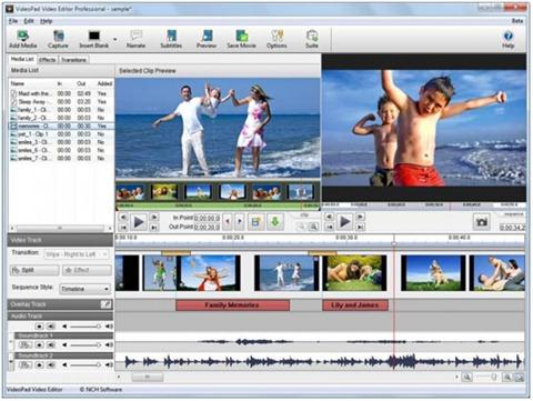 Video Pad - Editor de videos