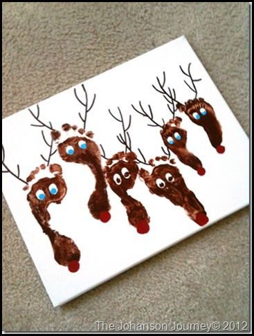 The Johanson Journey Reindeer Prints
