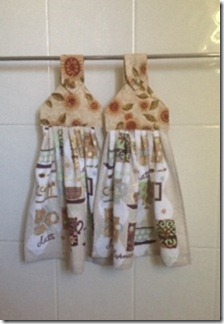 Hand Towel Hangers - Coffee