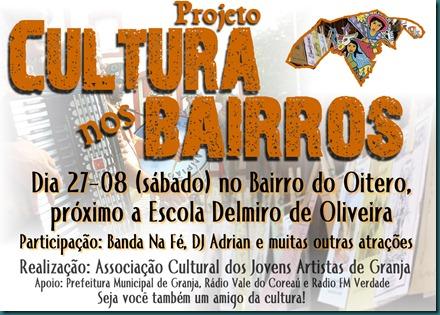 projeto cultura nos bairros oitero