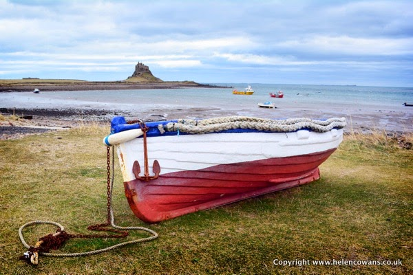 Lindisfarne boat to castle 1A