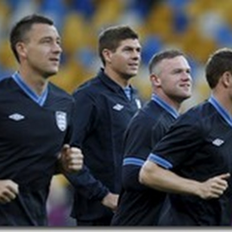 Formaciones de Inglaterra vs Ucrania