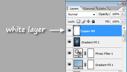 photoshop-white-layer