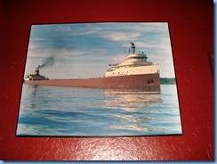 5174 Michigan - Sault Sainte Marie, MI - Museum Ship Valley Camp - Edmund Fitzgerald exhibit