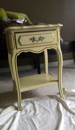 french side table before