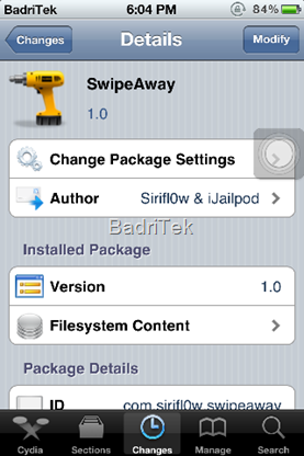SwipeAway Cydia Tweak iPhone (1)