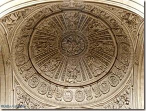 Bóveda con ángeles músicos - catedral de Jaén