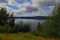 Teslin Lake 72 miles long