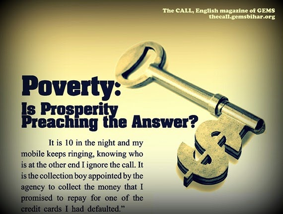 Poverty-Is Prosperity Preaching the Answer_The CALL