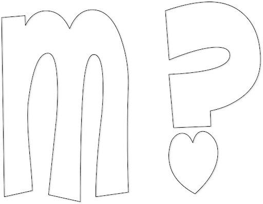 Moldes de letras cursivas para imprimir y recortar imagui - Letras para letreros grandes ...