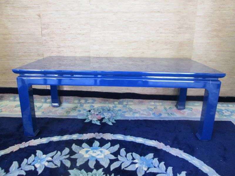 Cobalt Blue Coffee Table