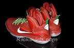 nike lebron 9 gr christmas 3 04 Throwback Thursday: Look Back at LBJs 2011 Christmas Shoes