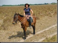 LL Jane on horse