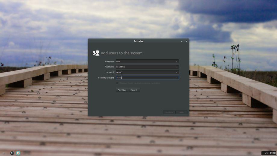Evolve OS Alpha 1 - Installer