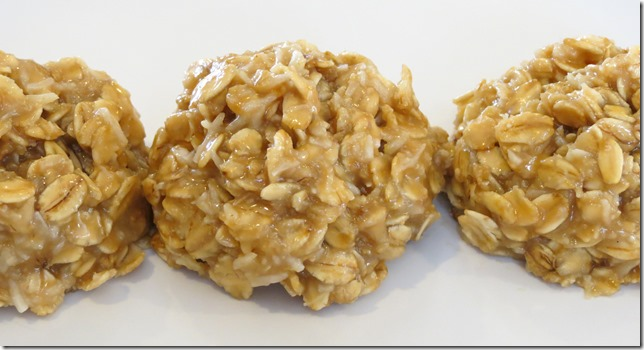 No Bake Cashew Butter Oatmeal Cookies