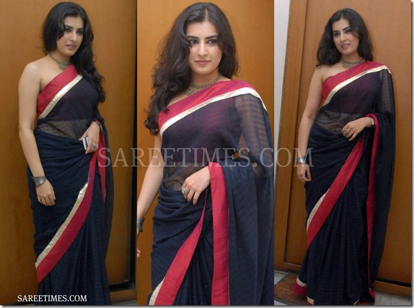 Archana_Blue_Designer_Saree