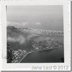 View from Corcovado May 24, 1952