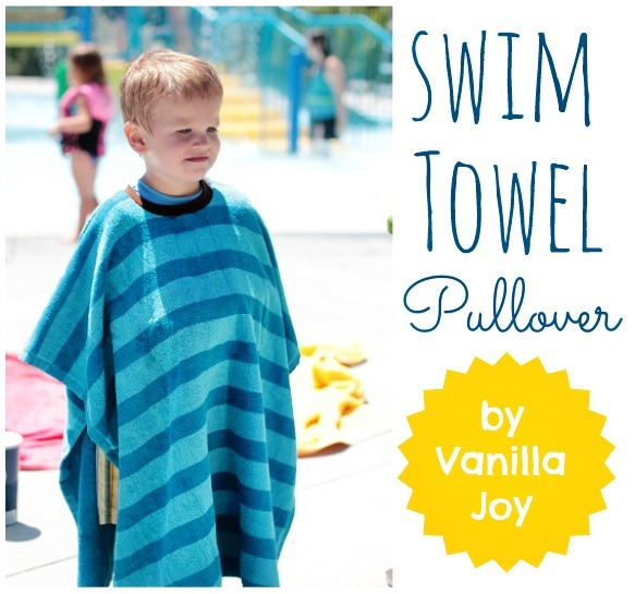 towel tshirt tutorial by Vanilla Joy