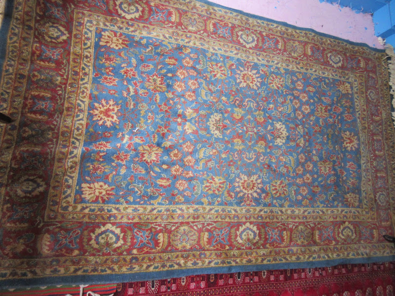 Light Blue Area Rug
