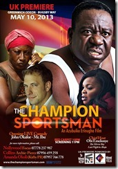 Champion Sportsman Poster