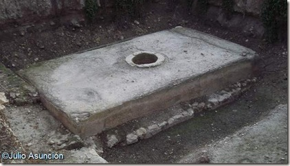 Aljibe de Venus - ciudad ibero-romana de Ilici