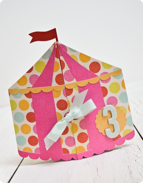 Circus-Tent-Card