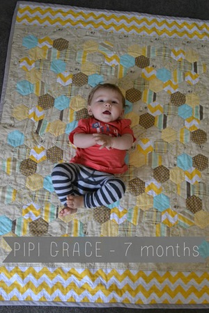 Pipi Grace 7 months
